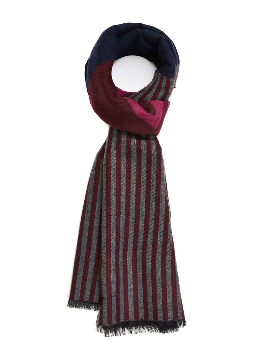 Shou Barre Wool Cotton Scarf