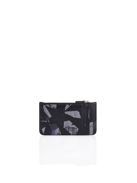 Stars Vertical Credit Card Holder With Zip