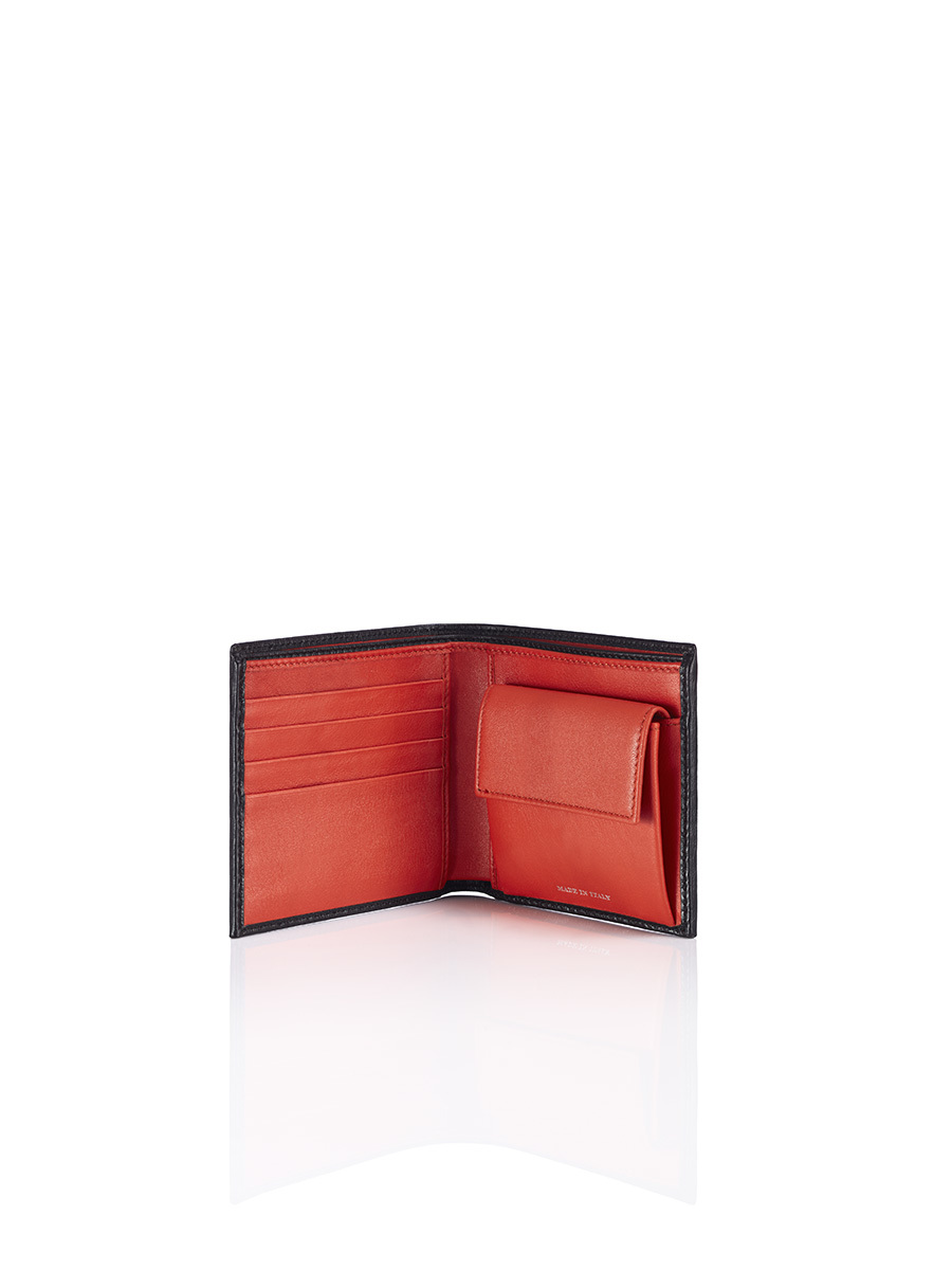 Multiple Horizontal Wallet With Coin Organizer
