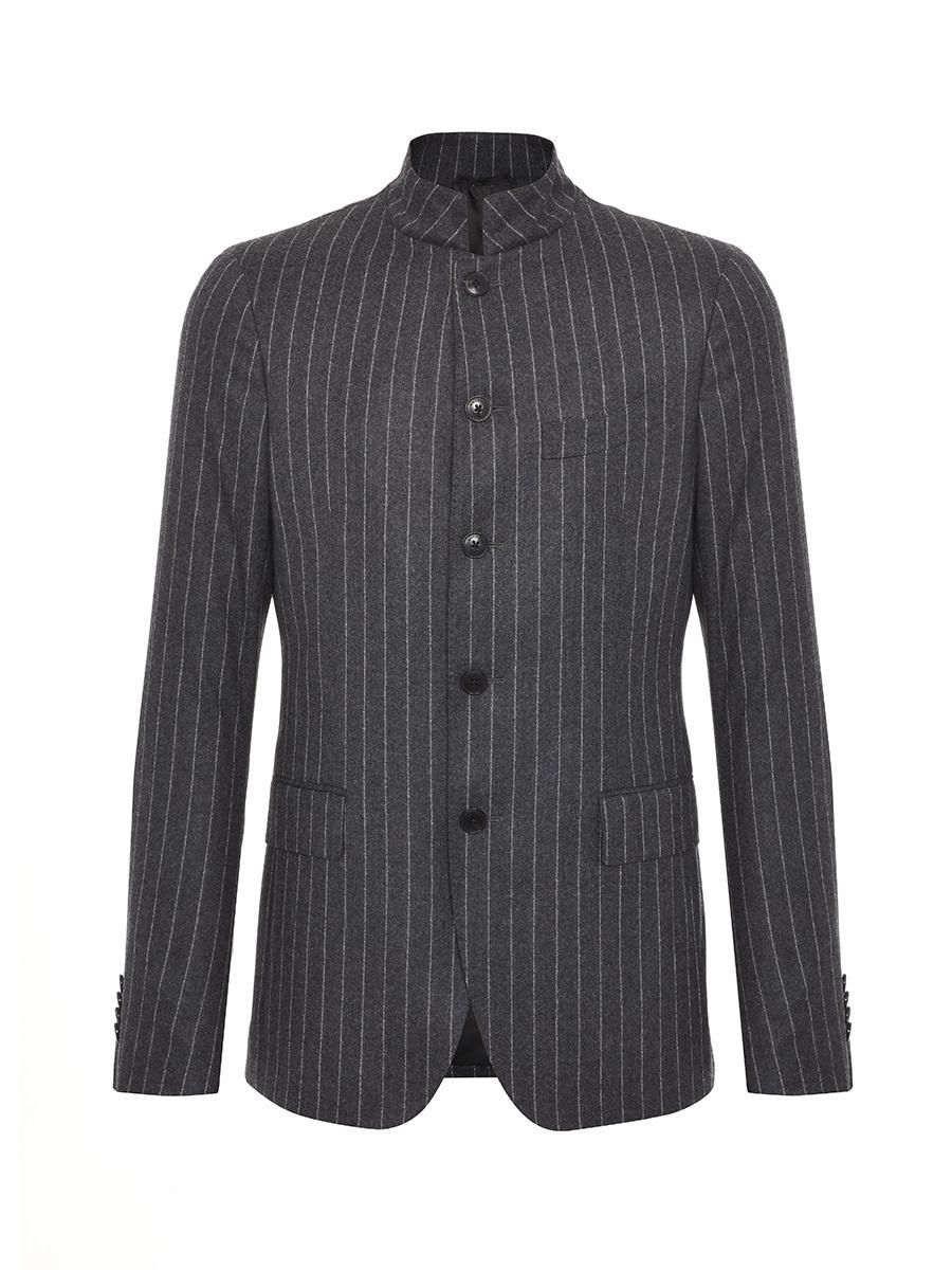 Mandarin Collar Five Buttons Suit