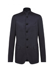 Mandarin Collar Five Buttons Suit