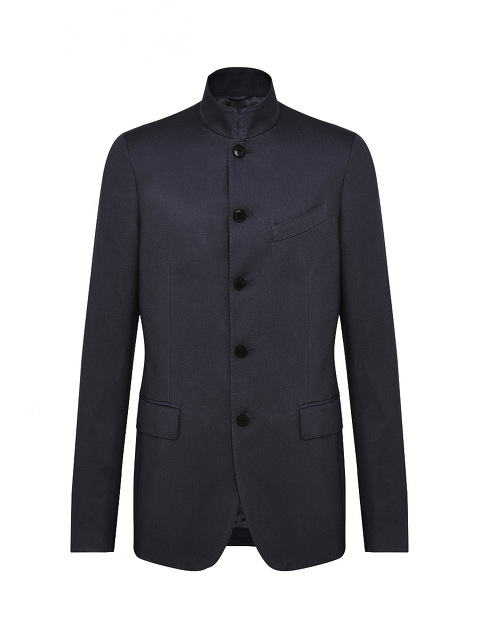 Mandarin Collar 5-Button Suit