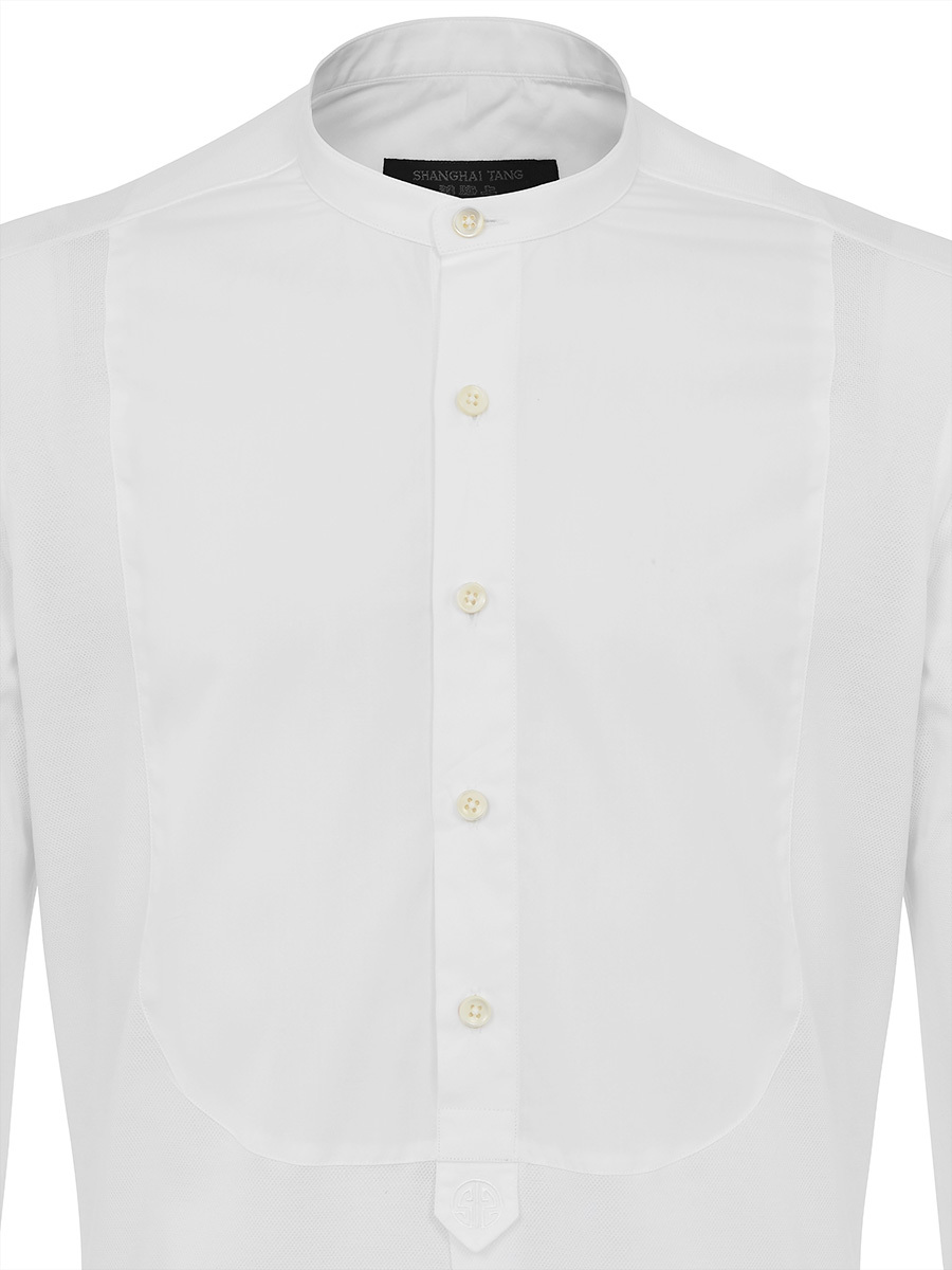 White Bib Shirt