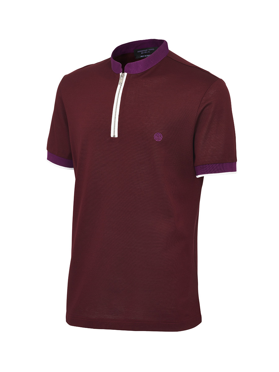 Polo With Zip