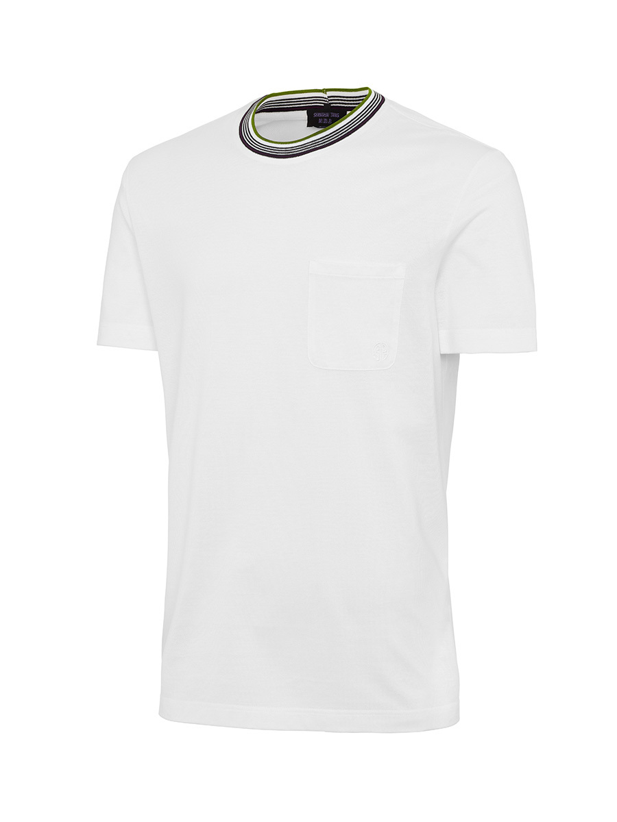 T Shirt With Heart Pocket