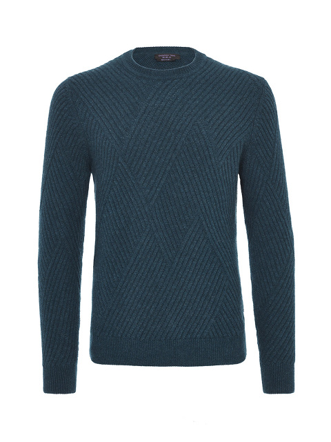 Engineered Rib Sweater