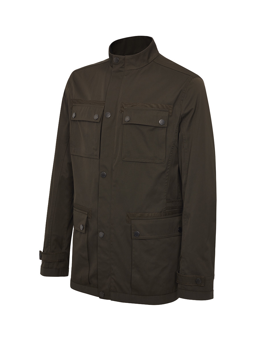 Cotton Nylon Blouson