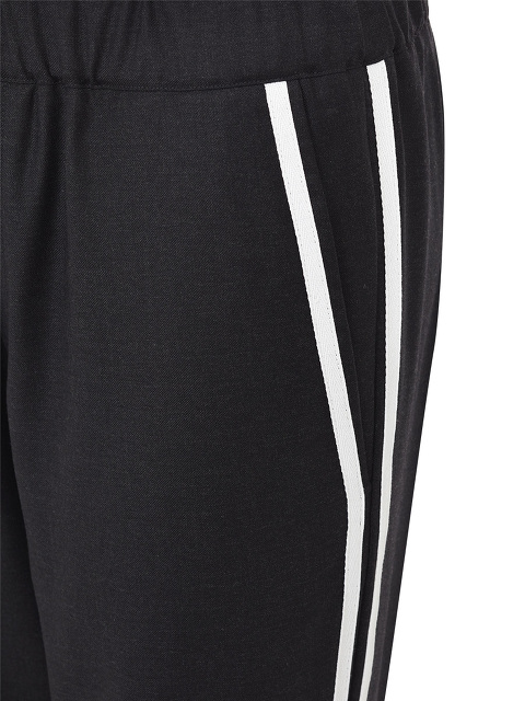 Wool Pants with Side Bands