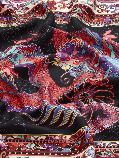 Dragon Silk Twill Foulard
