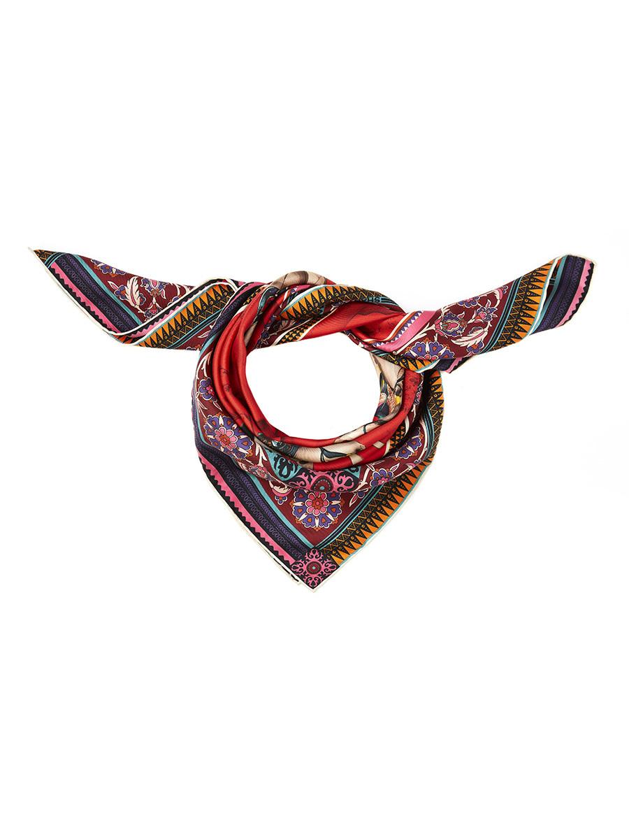 Horsemen Silk Twill Foulard