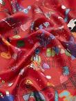 Journey Silk Twill Foulard