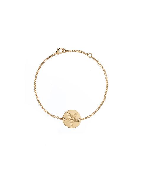 Gold Star Bracelet