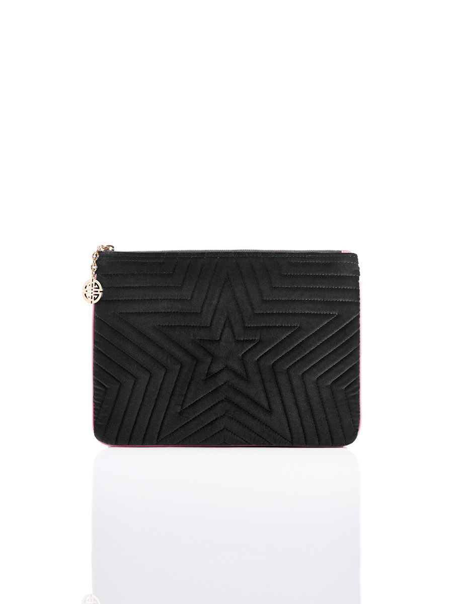 Star Pouch Medium Velvet