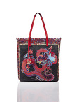 Dragon Nylon Shopper Bag