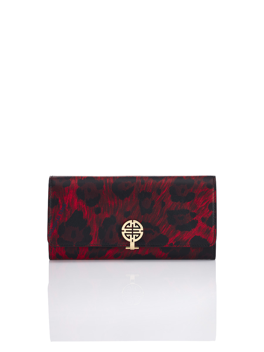 Printed Shou Long Wallet