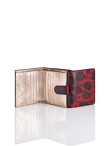 Printed Shou Compact Wallet