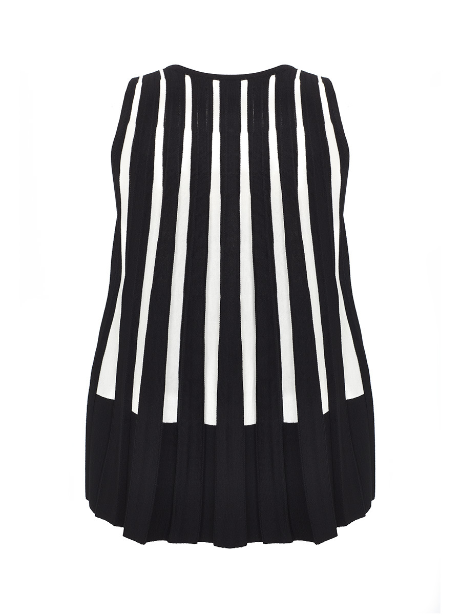 Pleated Knit Top