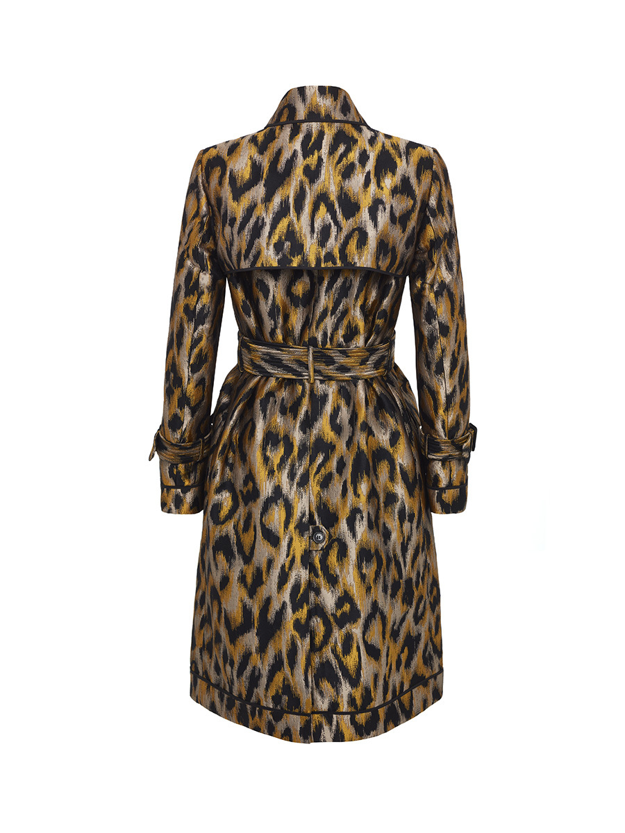 Trench Overcoat Animalier