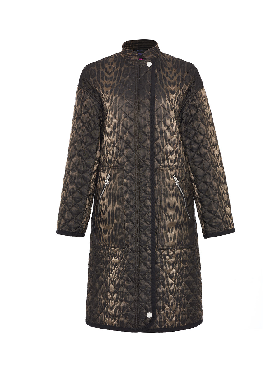 Quilted Overcoat