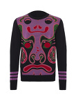 Chinese Mask Sweater