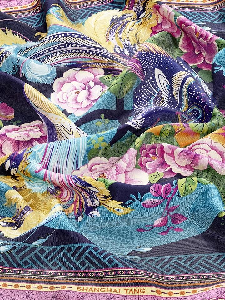 Prodigy Print Silk Foulard