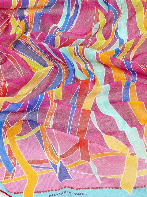 Promise Print Cotton Scarf