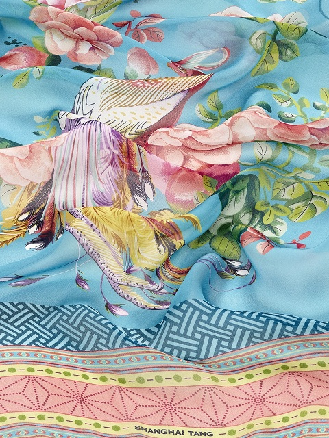 Prodigy Print Silk Scarf
