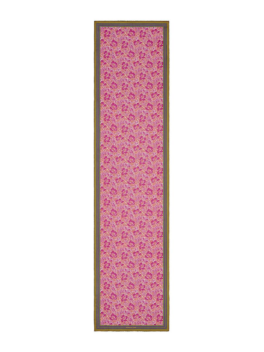Floret Print Silk Scarf