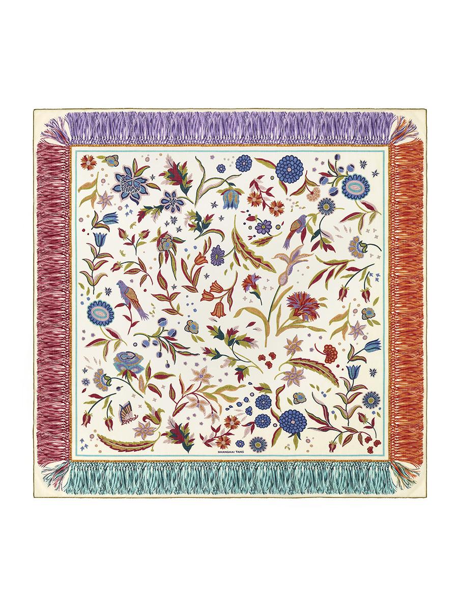 Chinoiserie Wool Shawl