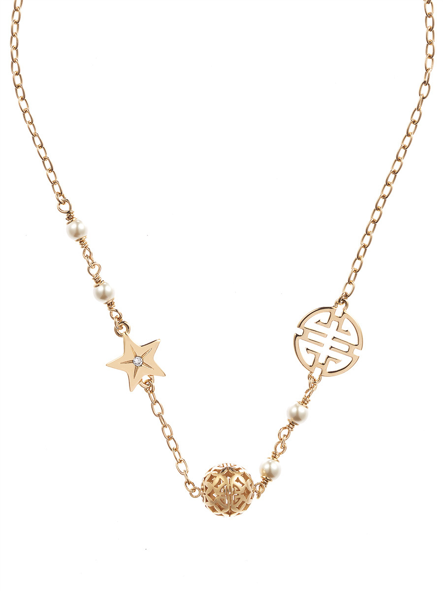 Shou Star Sphere Necklace