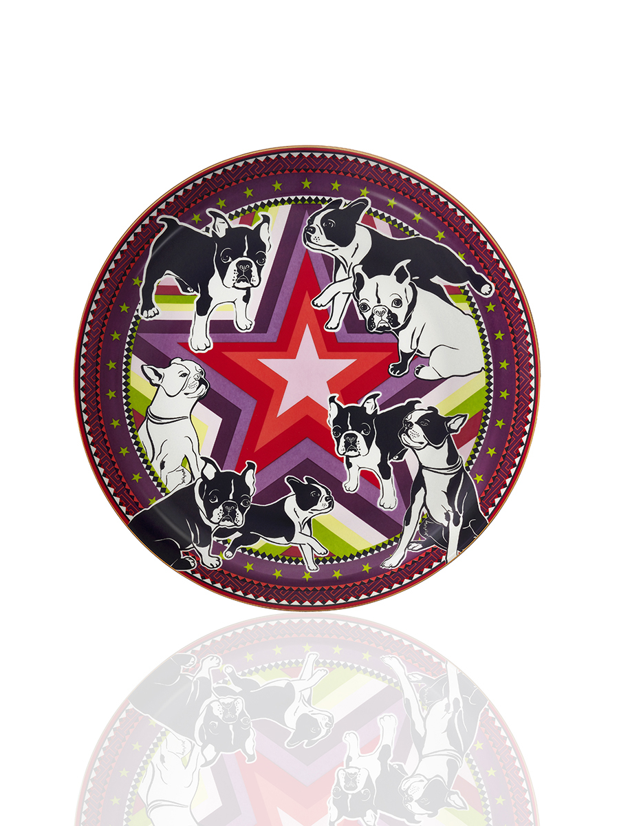 Laki Star Fine Bone China Plate