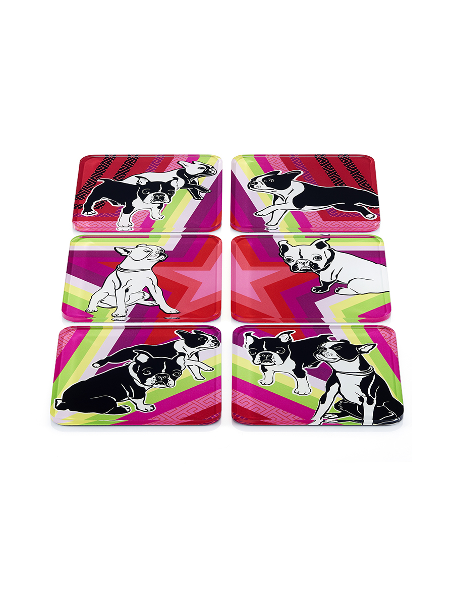Laki Star Acrylic Coaster Set of 6