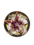 Laki Star Enamel Tray L