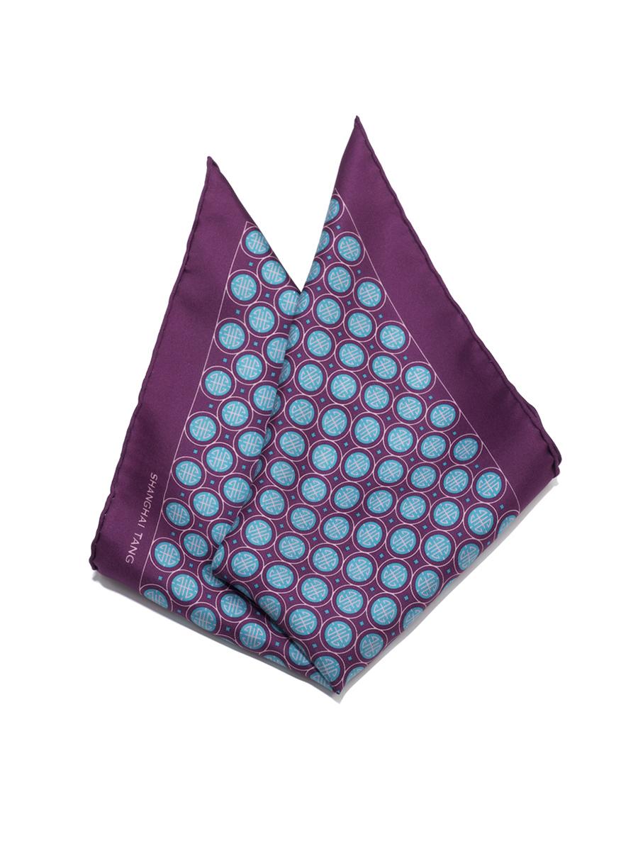 Shou Silk Twill Pocket Square