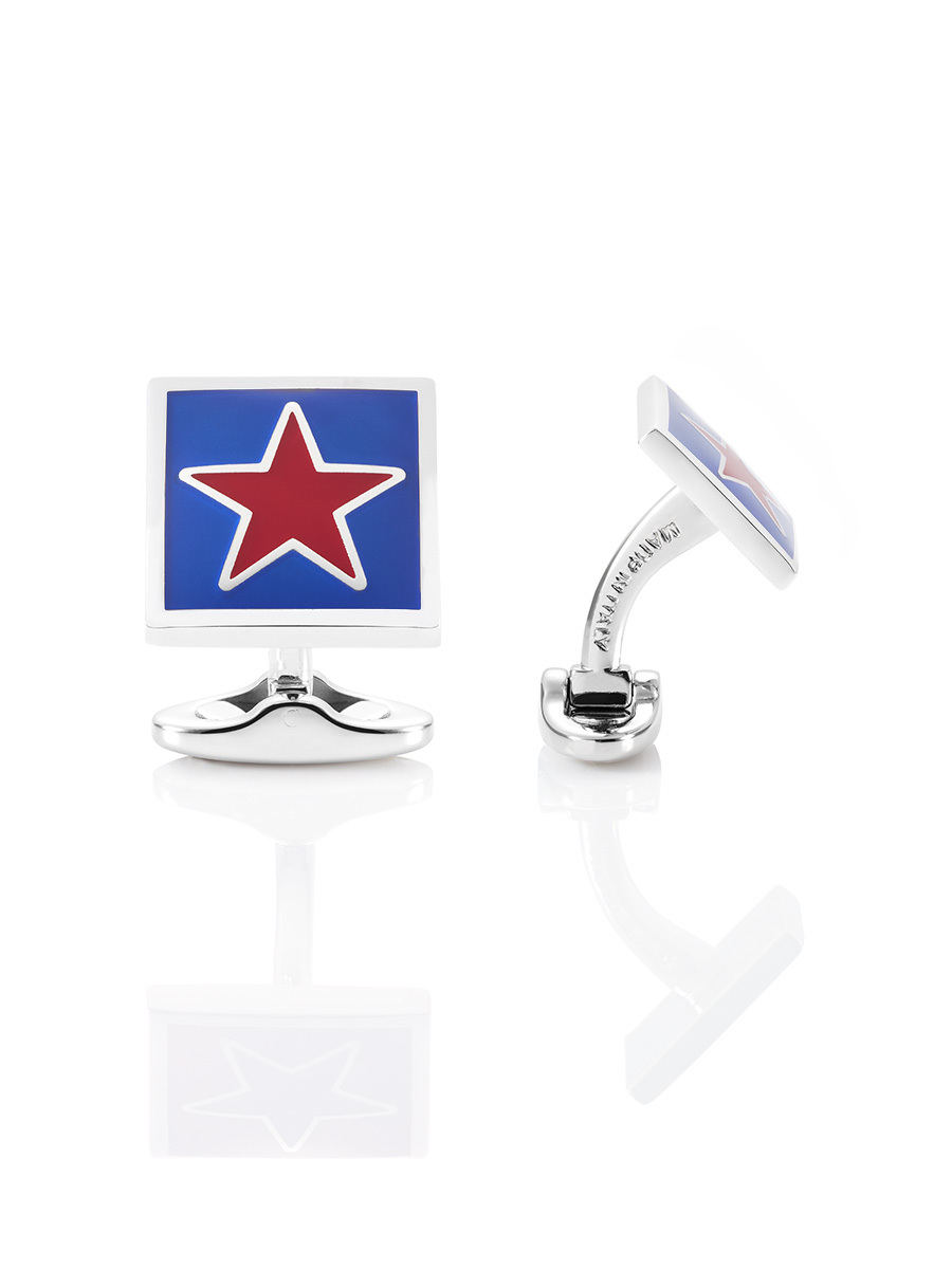 Star Square Cufflinks