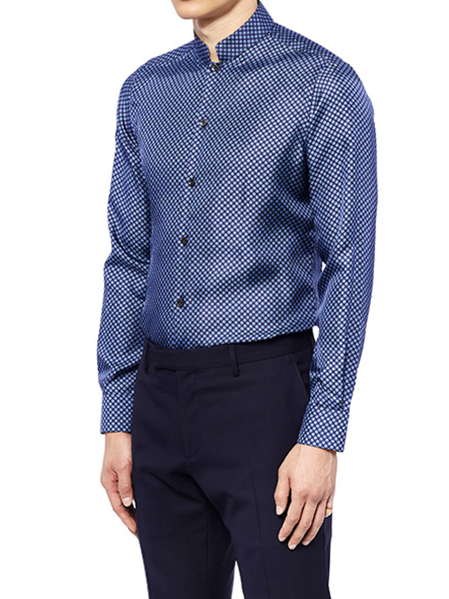 Mandarin Collar Shirt