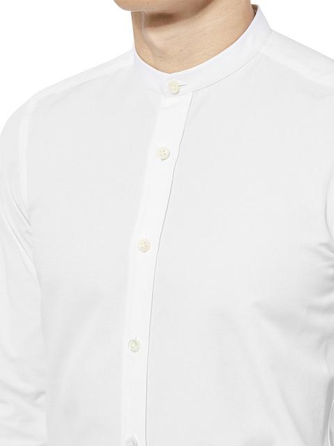 Band Collar Shirt