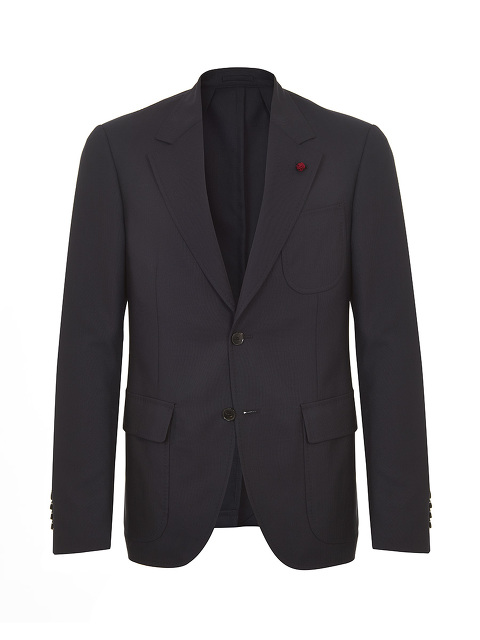 Convertible Collar Blazer