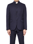Mandarin Collar 5 Buttons Jacket