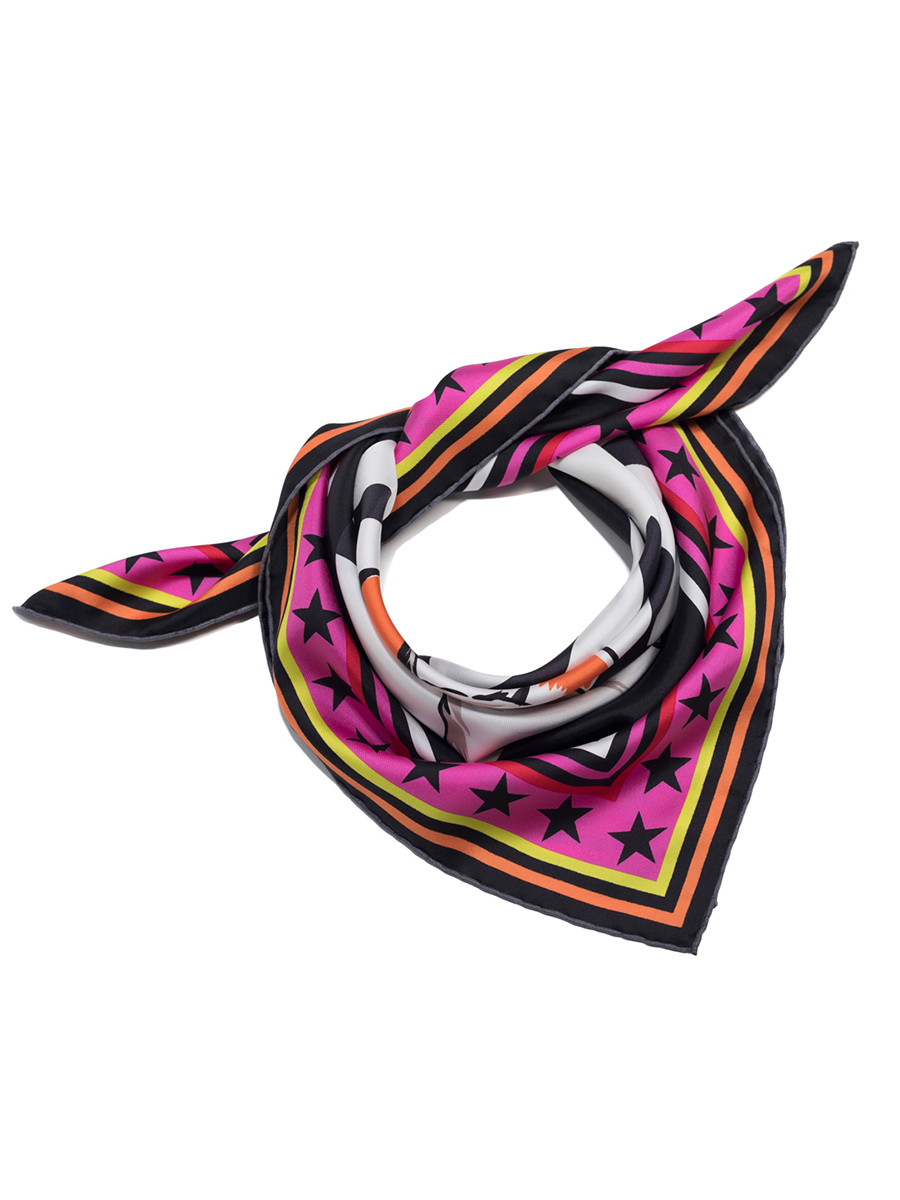 Laki Shou Silk Twill Foulard