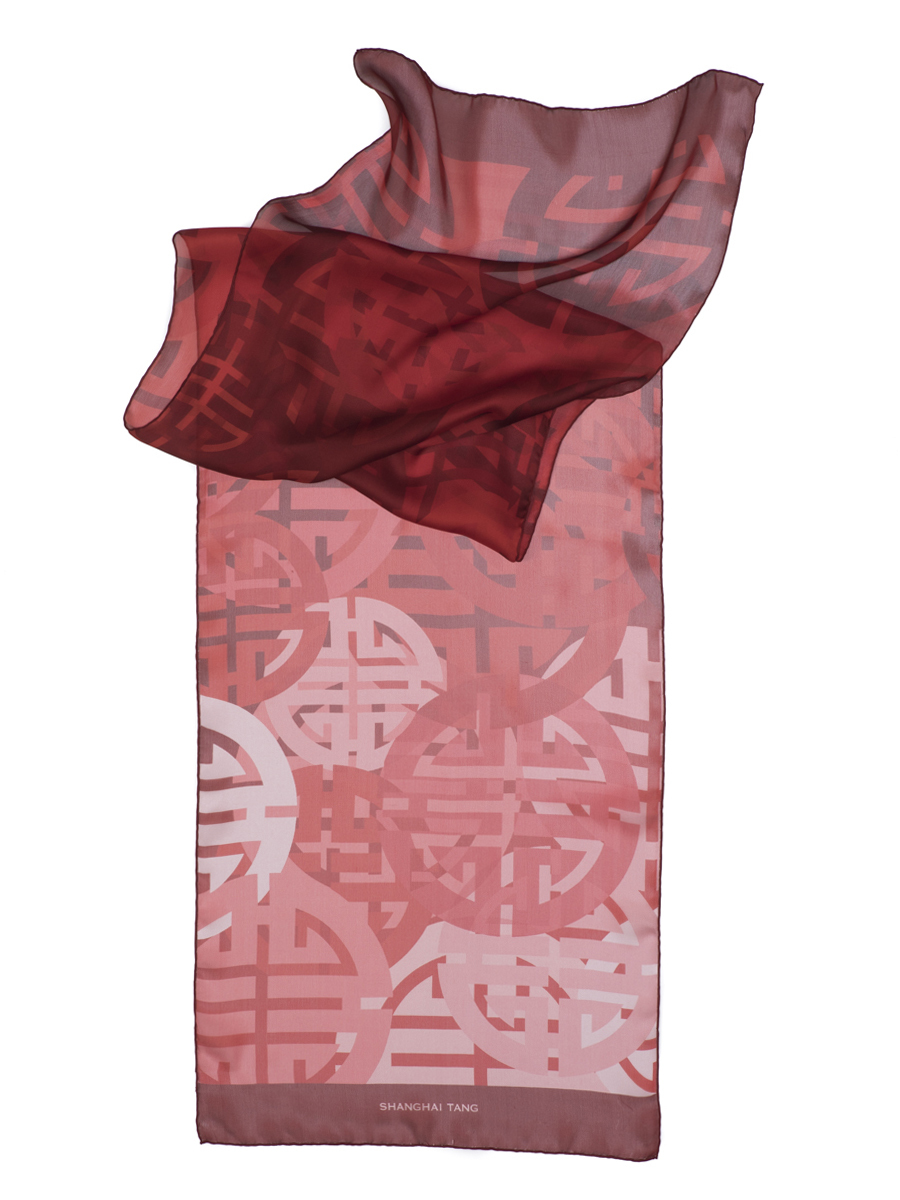 Silk Shou Small Scarf