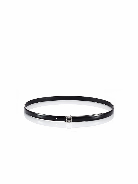 Crystal Shou Skinny Belt