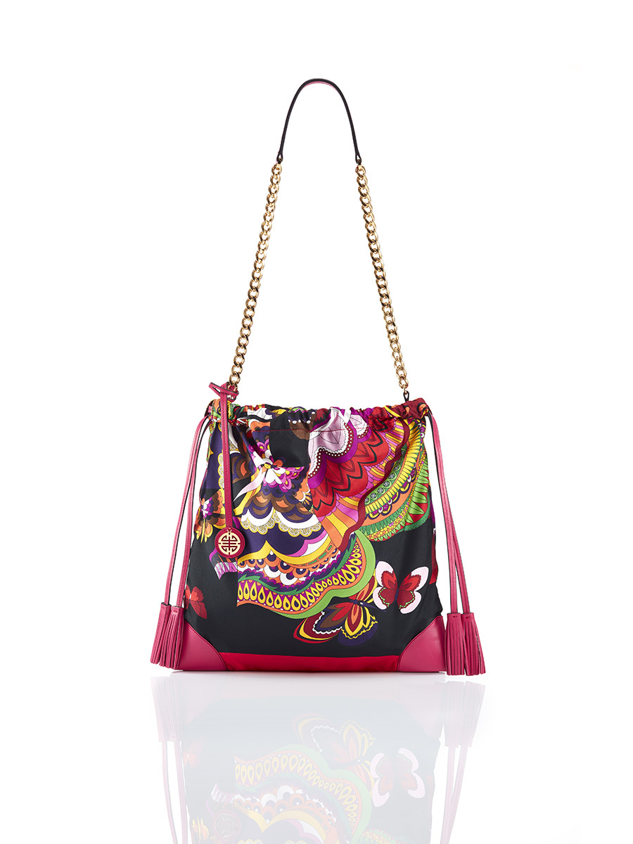 Silk Printed Bag