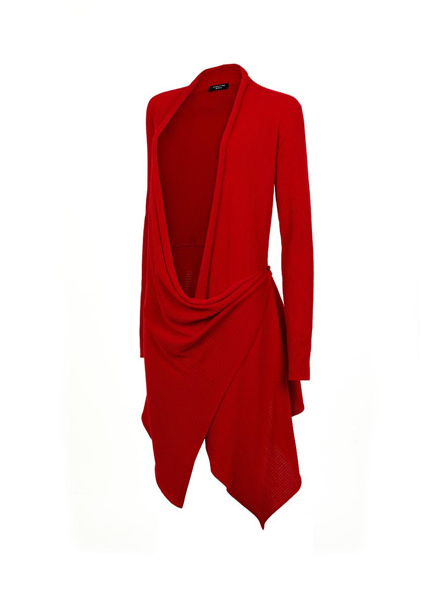 Deconstructed Wool Cardigan