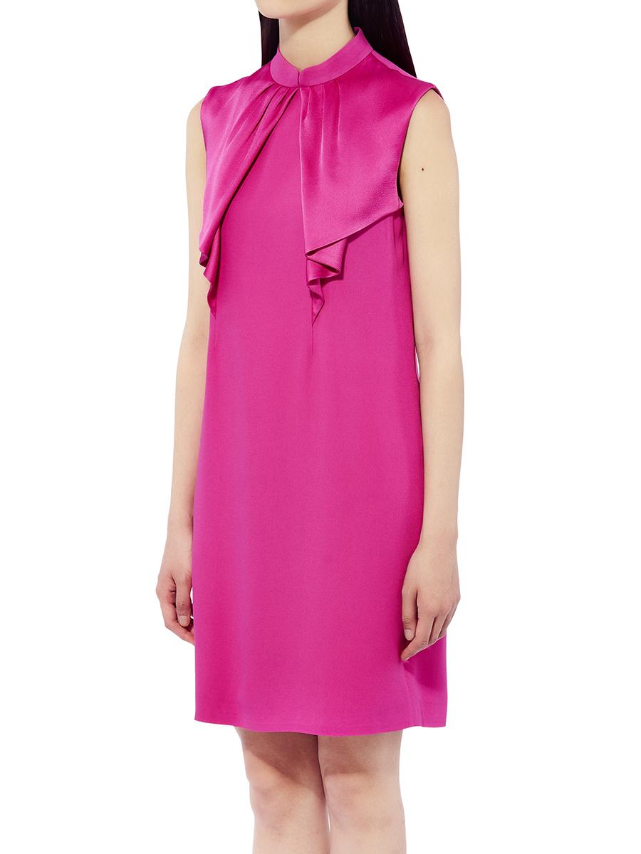 Short Dress With Neck Tie