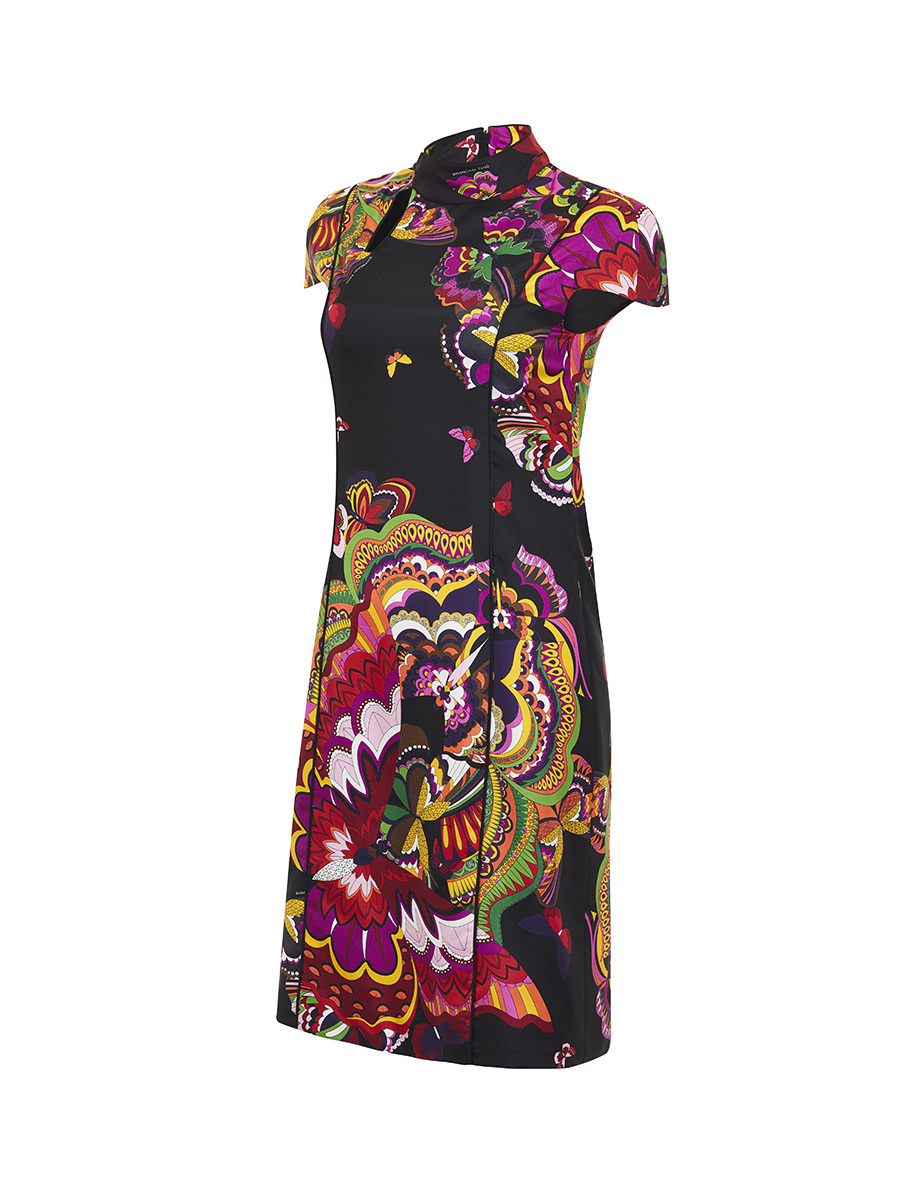 Metamorphosis Print Dress