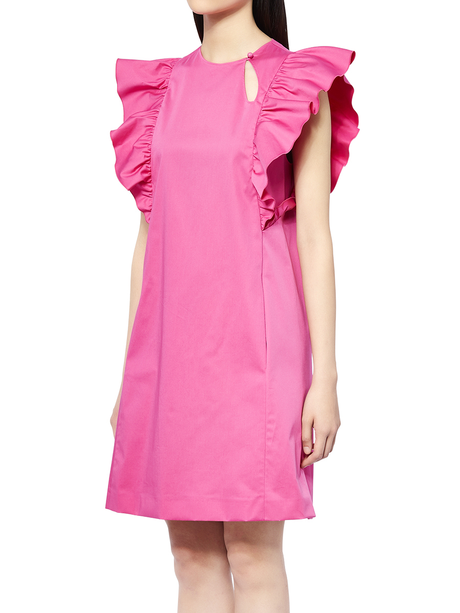 Ruffles Cotton Dress
