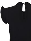 Sleeveless Ruffles Knit Top