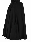 Double Face Wool Cape