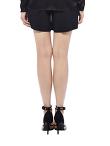 Pleated Cady Shorts